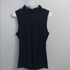 Business casual black top.